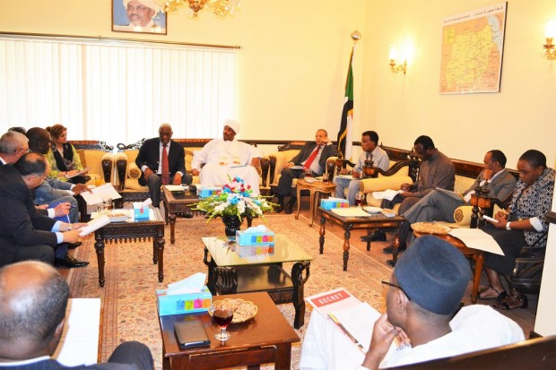 السفارة تستضيف إجتماع المجموعة الأفريقية بإسلام آباد