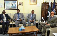 لقاء السيد وكيل وزارة الخارجية مع مدير عام مركز الدراسات الاستراتيجية الباكستاني