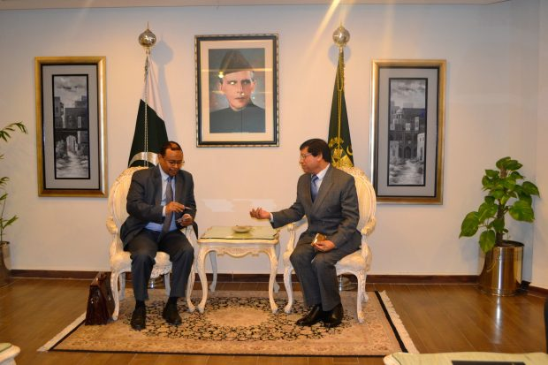أعمال الدورة الرابعة للجنة التشاور السياسي بين جمهورية السودان وجمهورية باكستان الإسلامية
