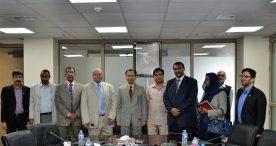 الإجتماعات التي عقدها وفد السودان على هامش إجتماعات الجمعية العمومية الـ15 للكومستيك
