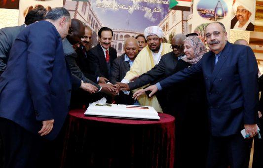 احتفلت البعثة يوم الجمعة 27 يناير 2017 بالعيد الواحد والستين لإستقلال السودان