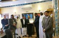 التقى السفير/ تاج الدين الهادي،  برئيس الجامعة الإسلامية العالمية بباكستان